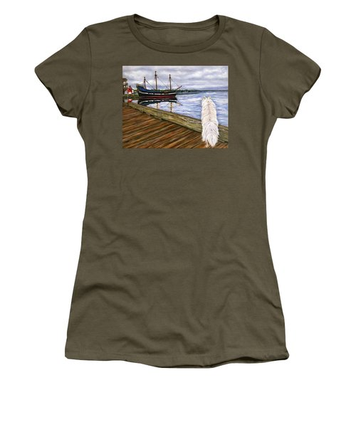 Sea Dog Women's T-Shirt (Athletic Fit)