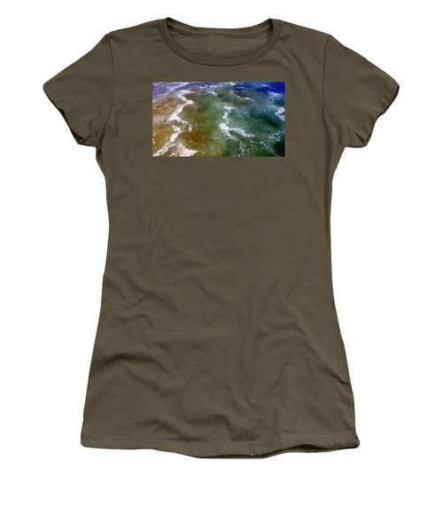 Sea Foam 2 Women's T-Shirt (Athletic Fit)