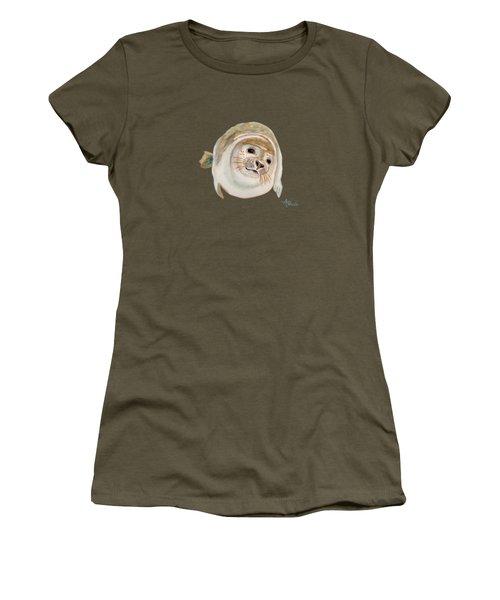 Sea Lion Watercolor Women's T-Shirt