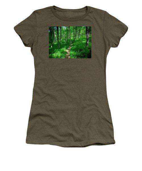 Sea Of Ferns Women's T-Shirt