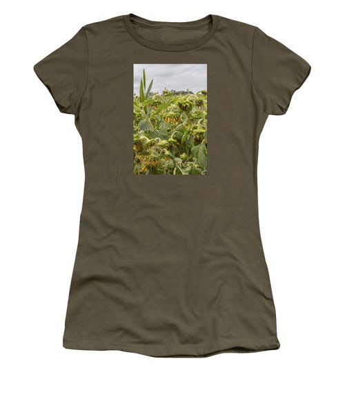 Season's End Women's T-Shirt (Junior Cut) by Arlene Carmel