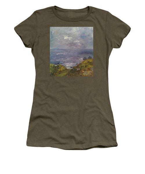 Seaview Women's T-Shirt (Junior Cut) by Genevieve Brown