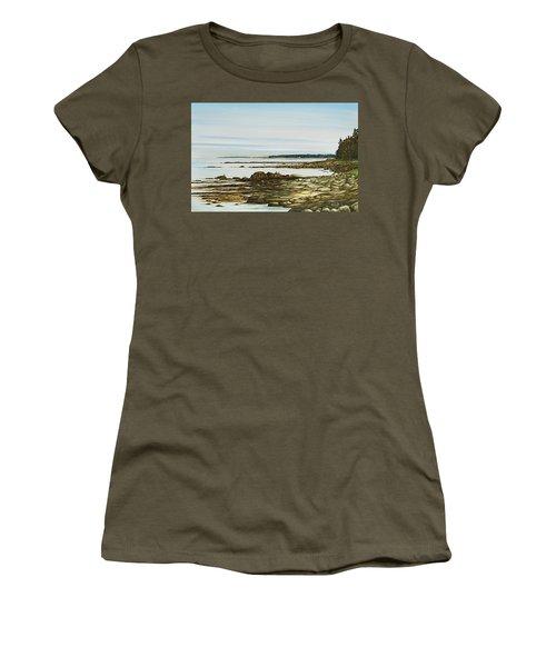 Seawall Mt. Desert Island Women's T-Shirt