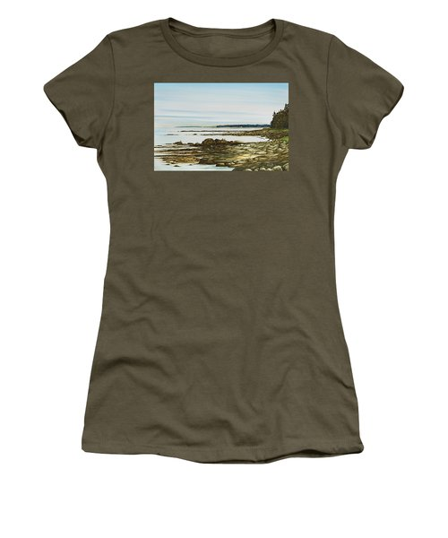 Seawall Mt. Desert Island Women's T-Shirt (Athletic Fit)