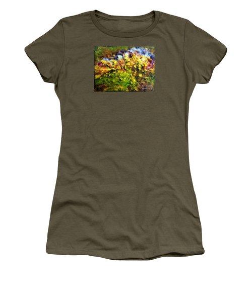 Seaweed Grunge Women's T-Shirt (Junior Cut) by Todd Breitling