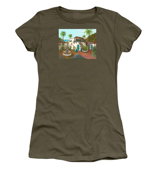 Secluded Paradise Women's T-Shirt (Junior Cut) by Katherine Young-Beck
