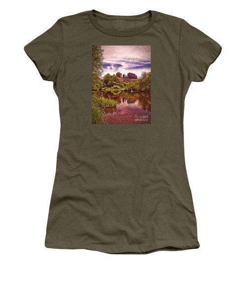 Women's T-Shirt (Junior Cut) featuring the photograph Sedona, Arizona  by Chuck Caramella