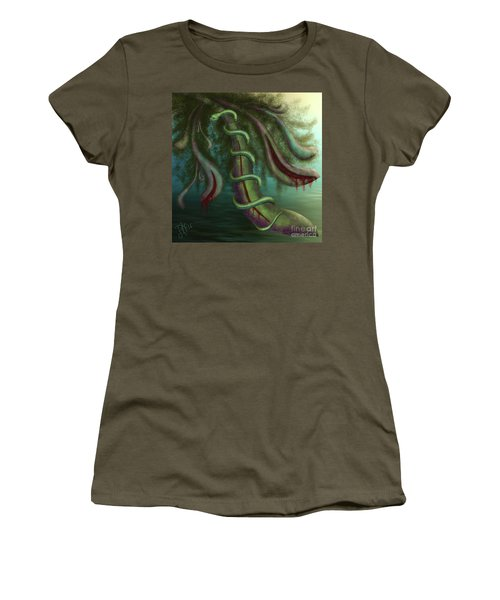 Seed Constrictor Women's T-Shirt (Junior Cut) by Rosa Cobos