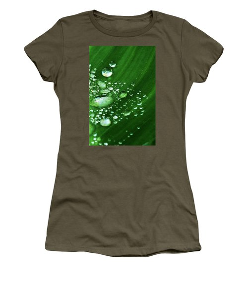 Growing Carefully Women's T-Shirt (Junior Cut) by John Glass