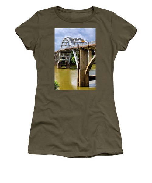 Selma - Edmund Pettus Bridge And Alabama River Women's T-Shirt