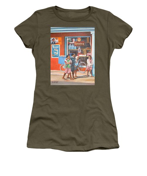 Sentra Women's T-Shirt (Junior Cut) by Tim Johnson