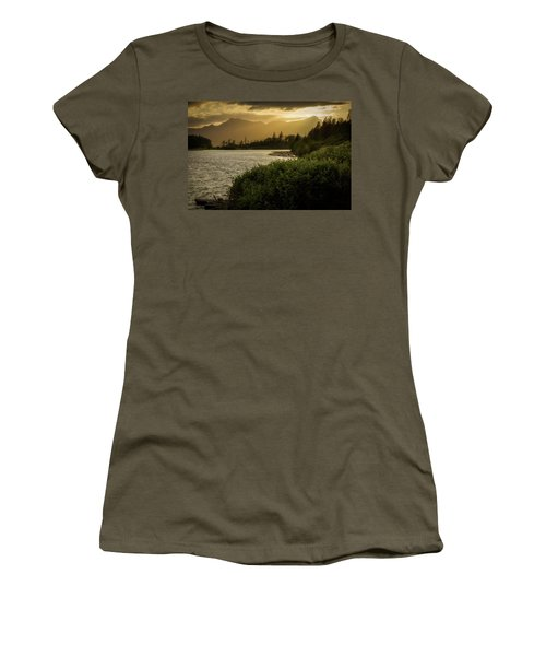 Sepia Sunset Women's T-Shirt (Athletic Fit)