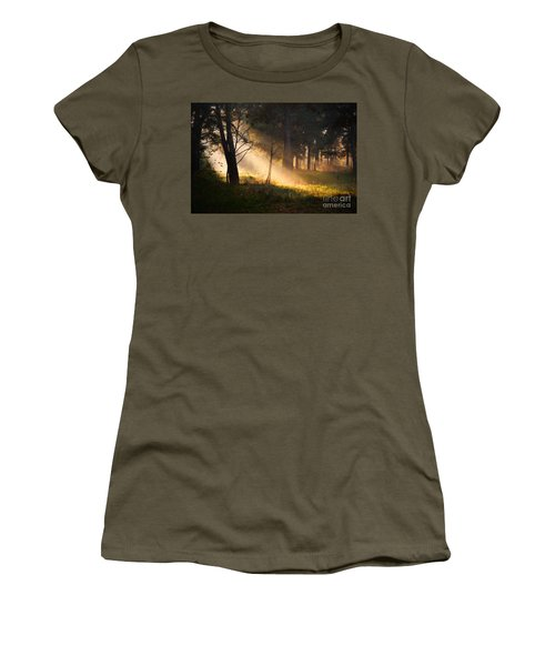 Women's T-Shirt featuring the painting September Impressions by Rosario Piazza