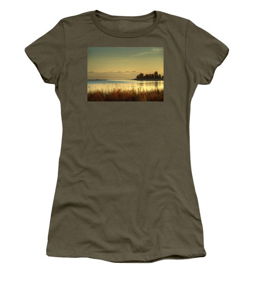 September Morn Women's T-Shirt (Junior Cut) by Randy Hall