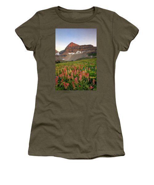 September Wildflowers Women's T-Shirt (Athletic Fit)