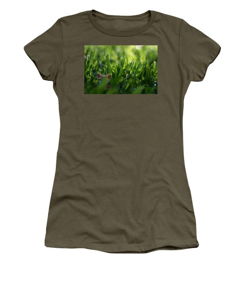 Women's T-Shirt (Athletic Fit) featuring the photograph Serendipity by Laura Fasulo