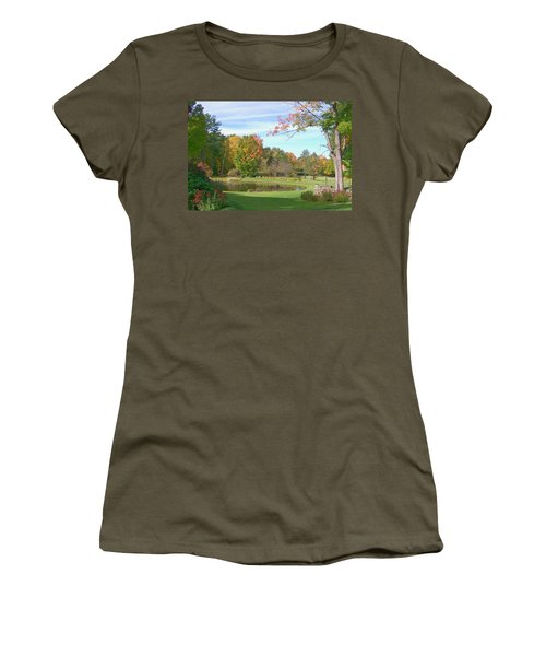 Women's T-Shirt (Junior Cut) featuring the digital art Serenity by Barbara S Nickerson
