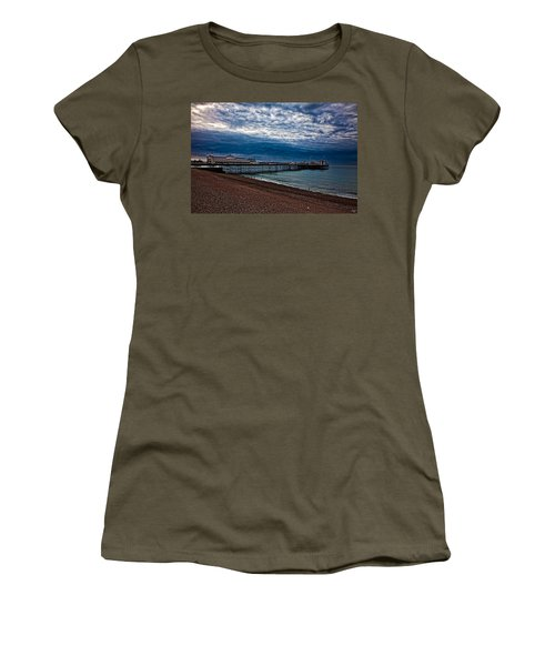 Seven Am On Brighton Seafront Women's T-Shirt
