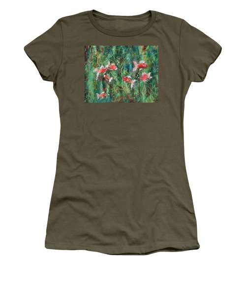 Seven Little Fishies Women's T-Shirt (Athletic Fit)