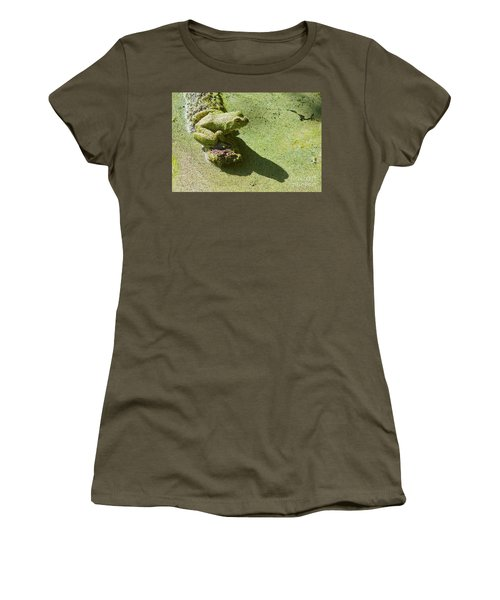 Shadow And Frog Women's T-Shirt (Athletic Fit)