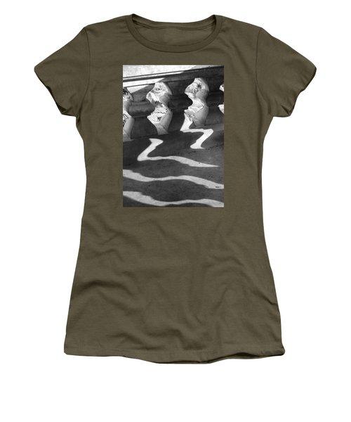 Shadow Of Railing Women's T-Shirt