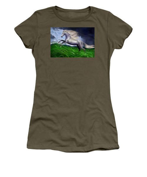 Shadowfax Women's T-Shirt (Athletic Fit)