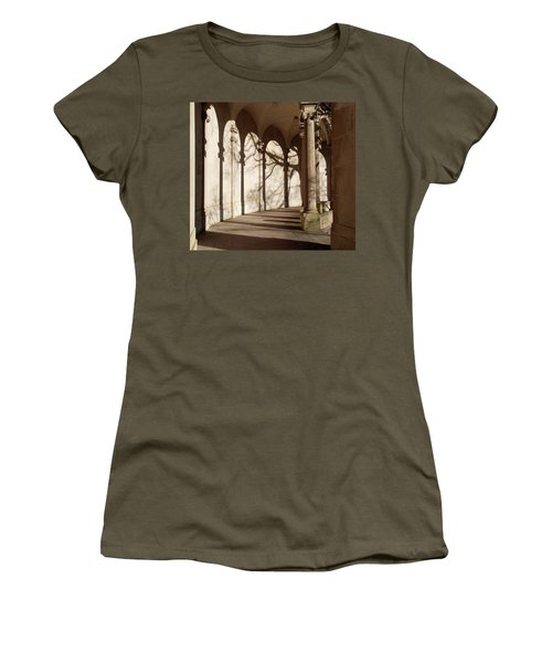 Women's T-Shirt (Junior Cut) featuring the photograph Shadows And Curves by Richard Bryce and Family