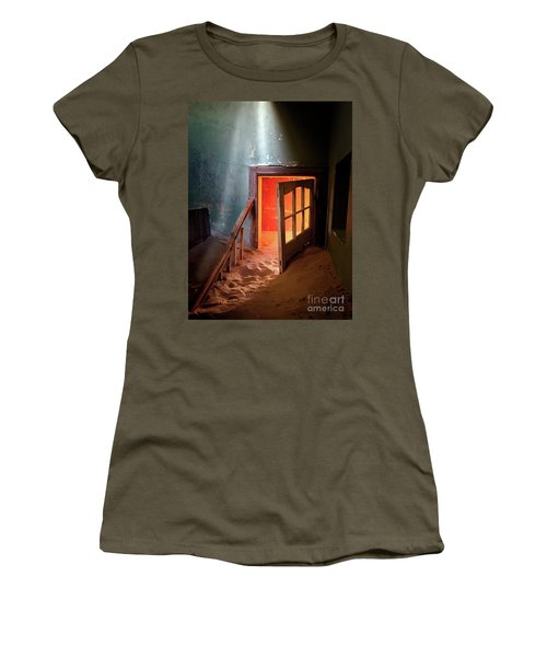Shaft Of Light Women's T-Shirt (Athletic Fit)