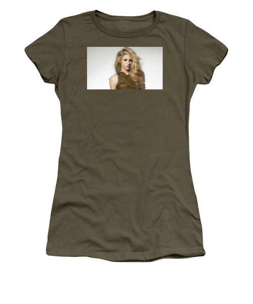 Shakira Women's T-Shirt (Junior Cut) by Iguanna Espinosa