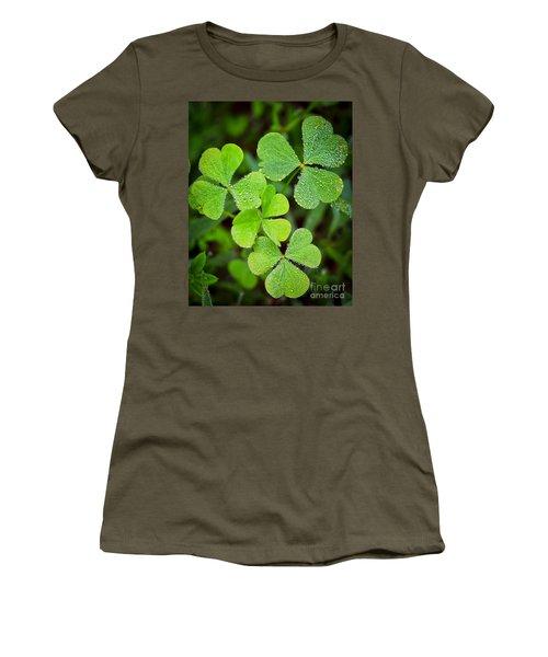 Shamrock Green Women's T-Shirt