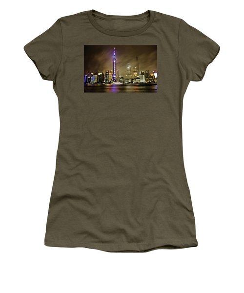 Shanghai Skyline Women's T-Shirt