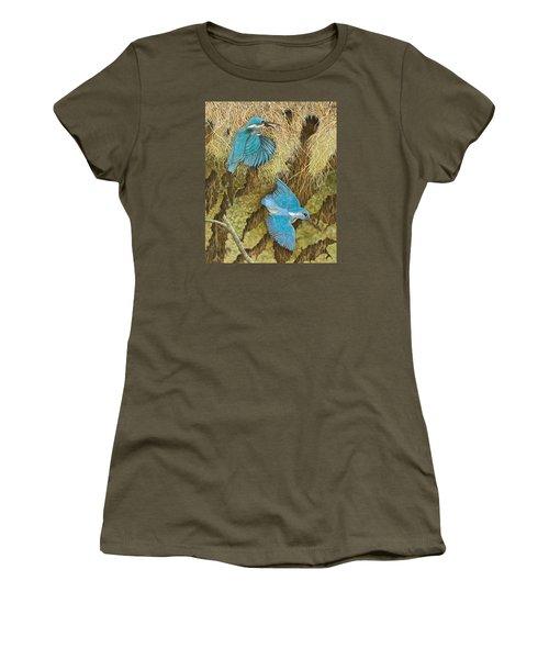 Sharing The Caring Women's T-Shirt (Junior Cut) by Pat Scott