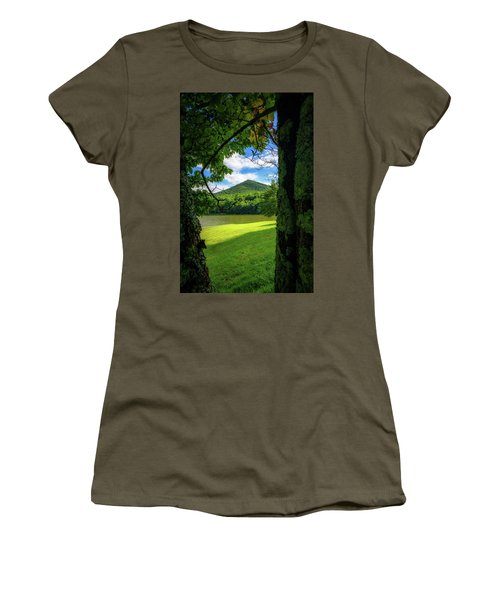 Sharp Top Through The Trees Women's T-Shirt (Athletic Fit)