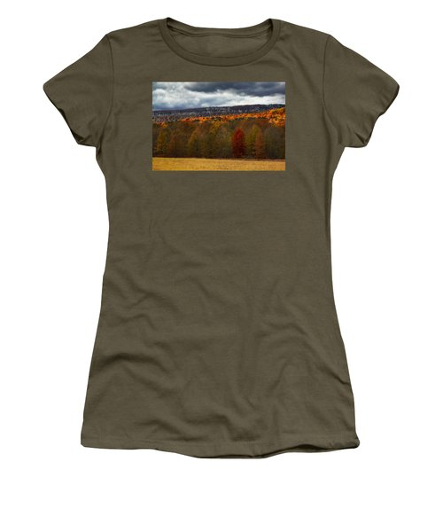 Shawangunk Mountains Hudson Valley Ny Women's T-Shirt