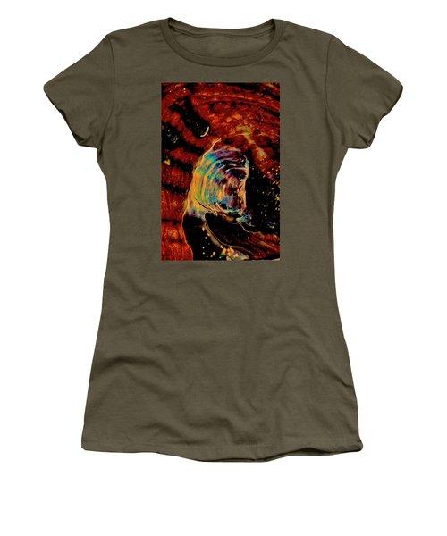 Shell Space Women's T-Shirt (Junior Cut) by Gina O'Brien