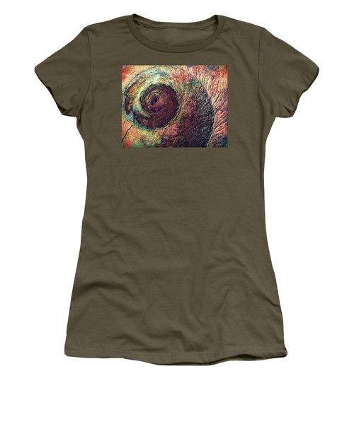 Shelled Women's T-Shirt (Junior Cut) by Lori Seaman
