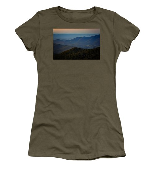 Shenandoah Valley At Sunset Women's T-Shirt