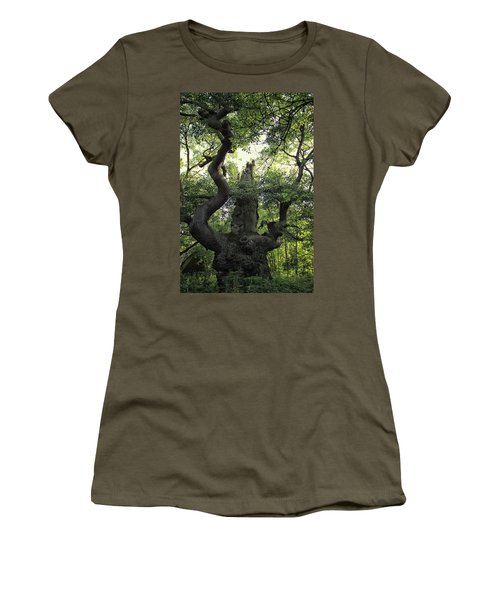 Sherwood Forest Women's T-Shirt (Athletic Fit)