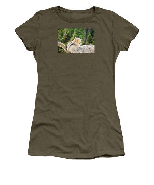Shhhh Quiet Please Women's T-Shirt (Athletic Fit)