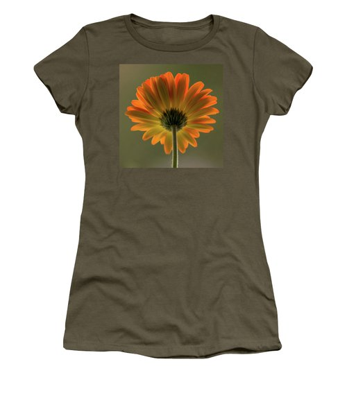 Shine Bright Gerber Daisy Square Women's T-Shirt (Junior Cut) by Terry DeLuco