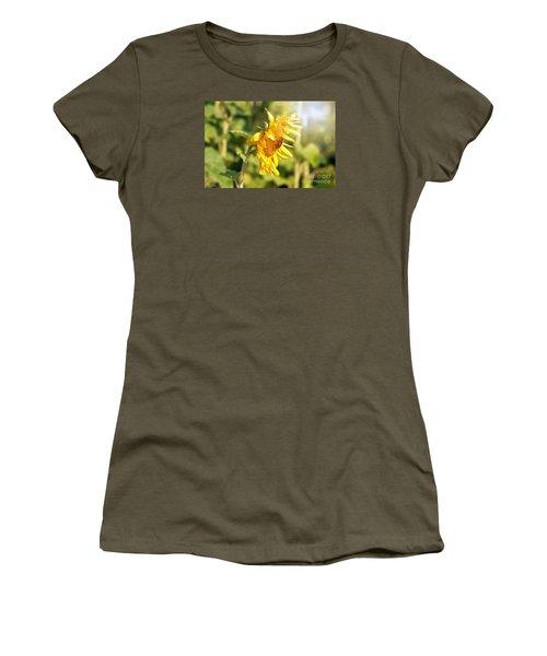Shining Sun Women's T-Shirt (Junior Cut) by Lila Fisher-Wenzel