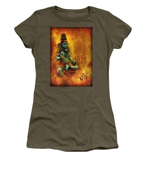 Shiva Hindu God Women's T-Shirt (Athletic Fit)