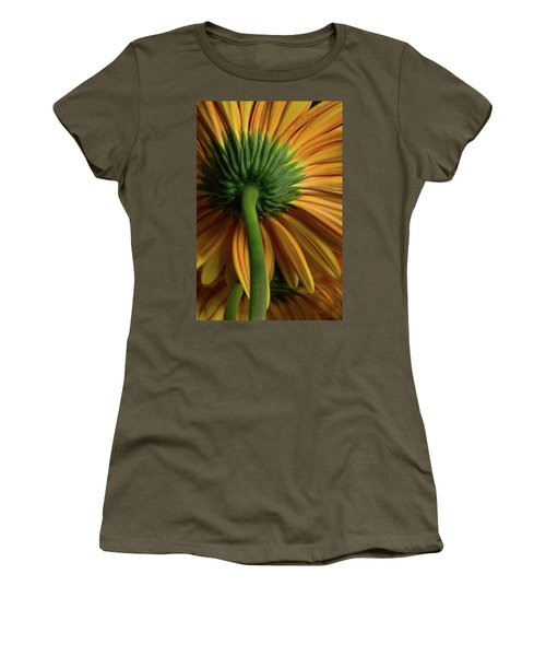 Shy Daisies Women's T-Shirt (Athletic Fit)