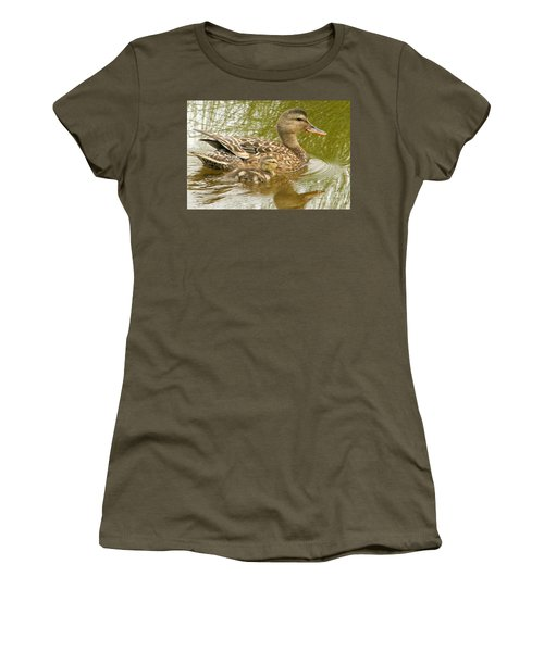 Side By Side Women's T-Shirt (Athletic Fit)