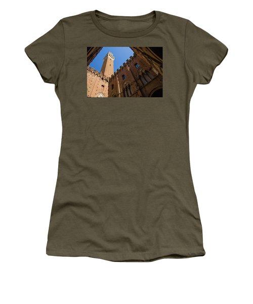 Siena Clock Tower Women's T-Shirt