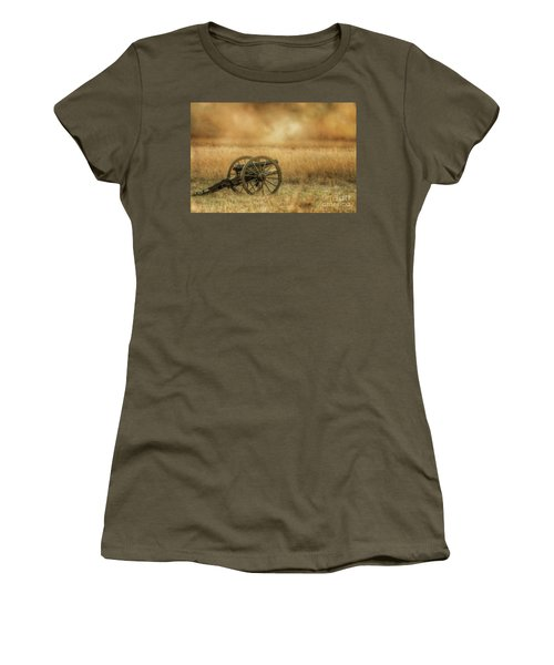 Silent Cannons At Gettysburg Women's T-Shirt (Athletic Fit)