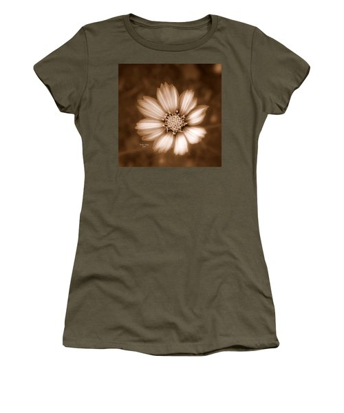 Silent Petals Women's T-Shirt (Junior Cut) by Trish Tritz