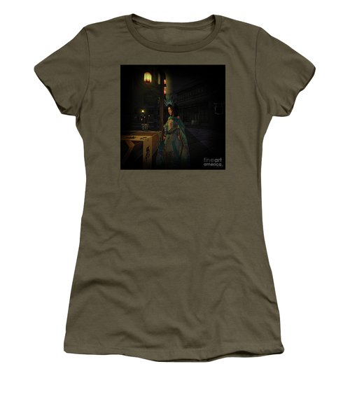 Silks And Parasols 5 Women's T-Shirt (Athletic Fit)