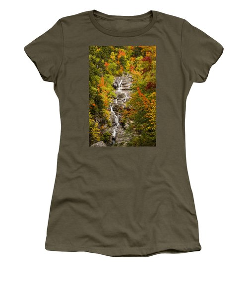 Silver Cascade Women's T-Shirt