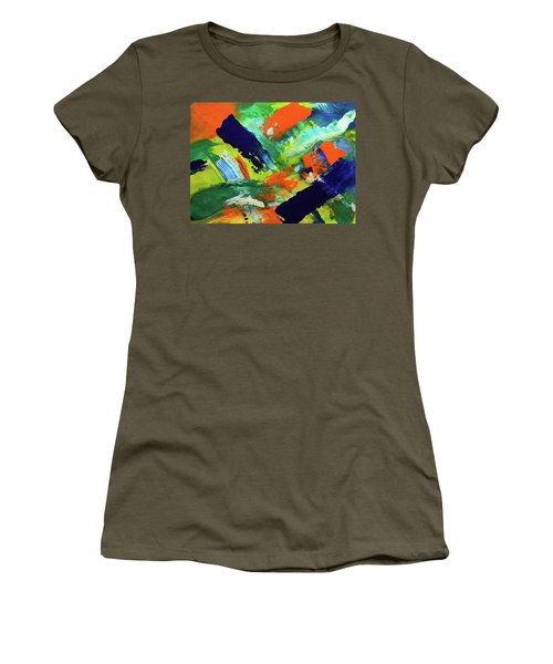 Simple Things Women's T-Shirt (Junior Cut) by Everette McMahan jr